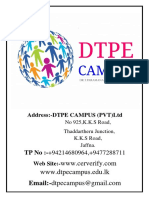 Dtpe Campus Full Fees System