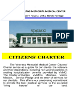 Veteran Memorial Medical Center Citizens_charter_2015_edition