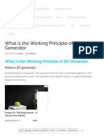 Working Principle of DC generator, Construction, Diagram.pdf