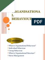Organisational Behaviour Final