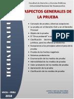 Aspectos Generales de la Prueba - Boletín