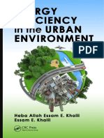 Heba Allah Essam E. Khalil, Essam E. Khalil - Energy Efficiency in the Urban Environment-CRC Pr I Llc (2015)