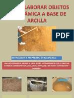 Como Elaborar Objetos de Cermica a Base de Arcilla