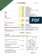 Padeye AISC Spreadsheet