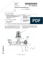 Andritz European Patent Office - EP 1348802 A1