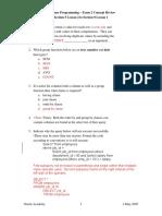Dp s09 l04 Section 9Exam2 Review Teacher