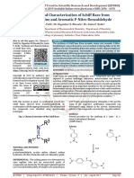 Synthesis and Characterization of Schiff Base from Aromatic Amine and Aromatic P Nitro Benzaldehyde