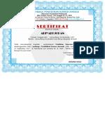 Ariyadi Johan sertifikat komputer