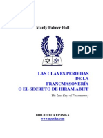 hall manly - claves perdidas de la masoneria