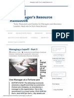 Managing a Layoff - Part 3_ Letting Employees Go