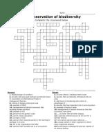 3.4 Crossword