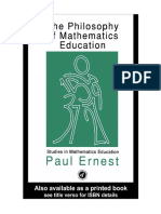 Terjemahan Buku the Philosophy of Mathematics Education - Paul Ernest-dikonversi