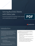 eBook Solving Business Needs With Delta Lakev2