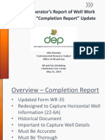 Completion Report Presentation PDF