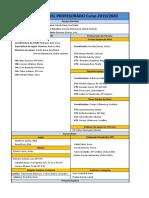 Estructura Profesores 19-20