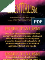 ESSENTIALISM 3.0