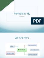 3 Periodicity HL