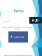How to Recover Facebook Account Without Email