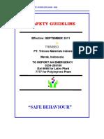 Merak Site Safety Guideline