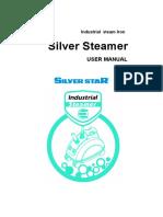 Silverstar Steamer SR-5000,SR-8000 Instruction Manual