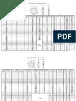 ISO Flange Excel