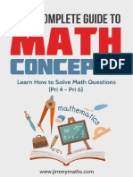 Jimm Maths Concepts