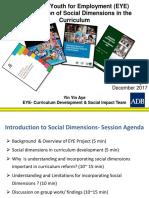 ADB Social Dimension Induction Pack