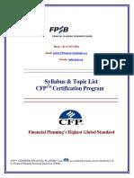Syllabus Ver07 CFP Certification Program UpdatedFPSB 190718