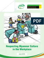 Respecting Myanmar Culture in the Workplace