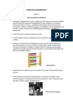Lesson 1 Summary of Computer.computer Fundamentals