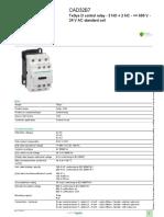 TeSys Control Relays_CAD32B7