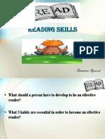 Skills reading
