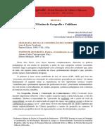 RESENHA - O Ensino de Geografia e Cotidiano - Silvana Lúcia Da Silva Lima (1)