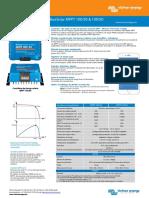 Datasheet BlueSolar Charge Controller MPPT 100 30 & 100 50 FR