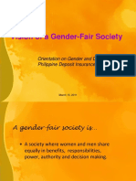 Gender Fair Society