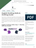 English Drafting Skills & Drafting Guide - Noting Drafting
