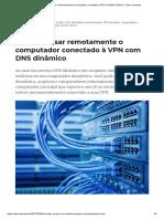 Acessar Remotamente VPN - Endereco Dinamico