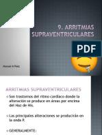 9. Arritmias supraventriculares