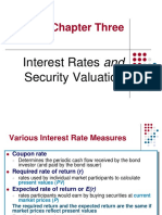 232037425 Chapter 3 Interest Rates and Security Valuation