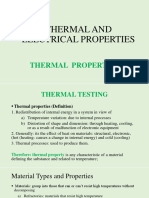 Electrical, Thermal