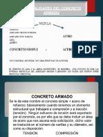 Generalidades para diseño de concreto armado I