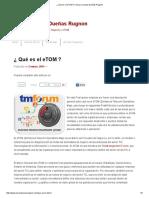 ¿ Qué Es El ETOM _ _ Oscar Lorenzo Dueñas Rugnon