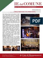 Notizie Dal Comune di Borgomanero del 05-09-2019 - Speciale Festa dell'Uva III