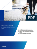 IFRS 15 Revenue From Contract With Customers