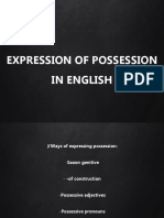 EXPRESSING POSSESSION IN ENGLISH.pptx