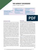 Upper Airway Disorders