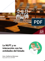 La NLPT y su interacción con las entidades del Estado