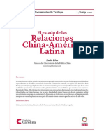 China y America Latina
