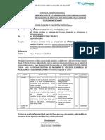 Informe 011 Aquisicion de Arnes