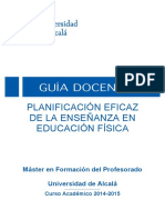 Planificacion Educ. Fisica